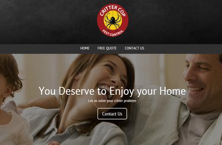 Critter Cop Website