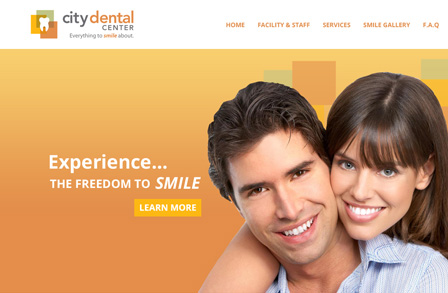 Medical Dental Responsive Design