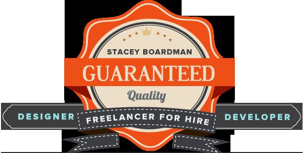 Stacey Boardman - Freelance Creative Designer and Developer