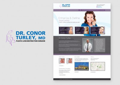 Dr.Turley Homepage and Logo