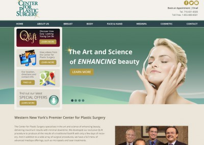 Centre for Plastic Surgery Homepage
