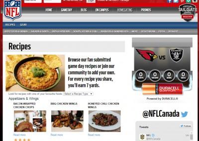 NFL Virtual Tailgate