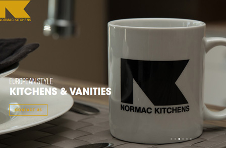 Normac Kitchens Website